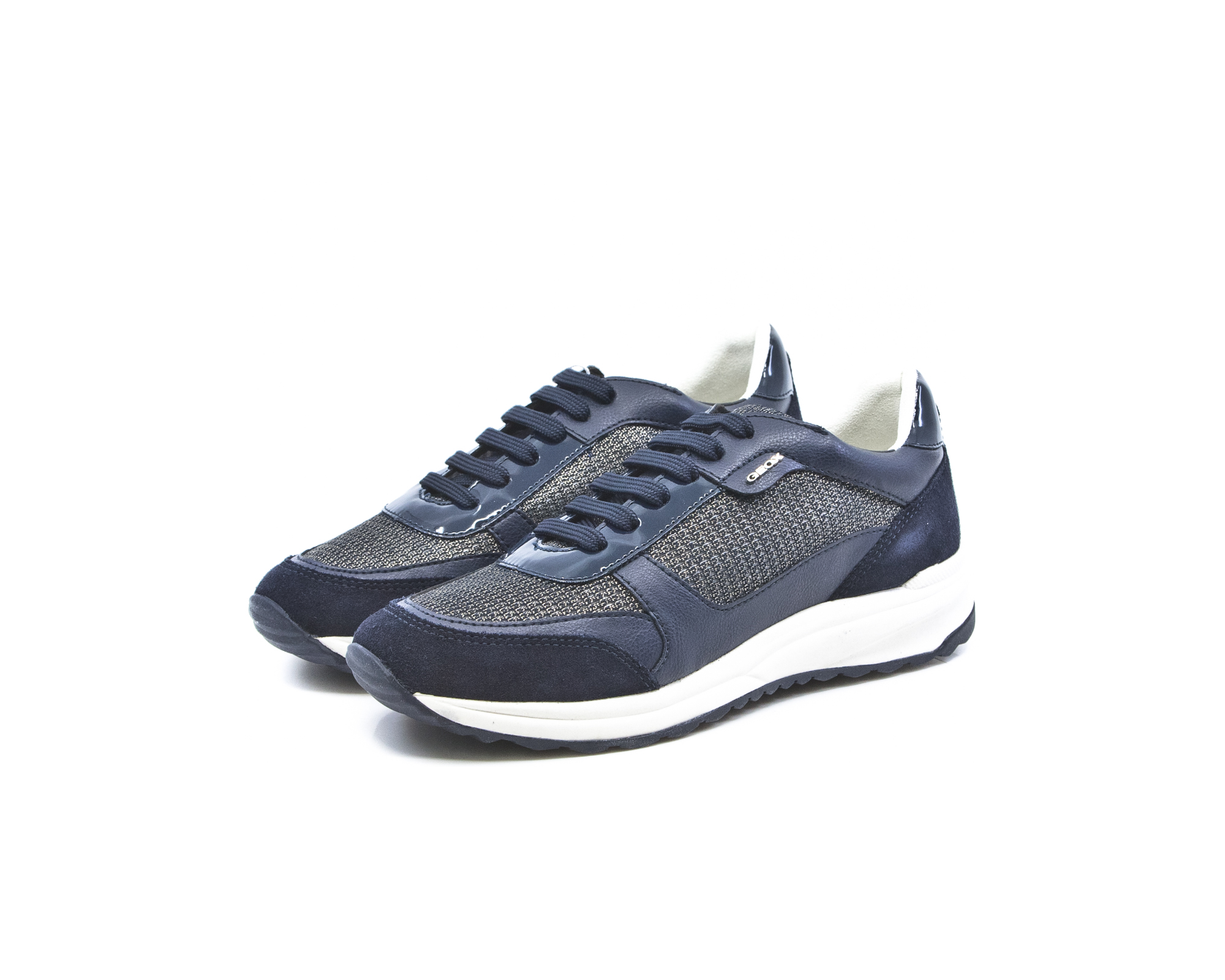 d3a0494e040 Geox Airell Γυναικεία Ανατομικά Sneakers Navy (D642SC 0LY22 C4002 ...
