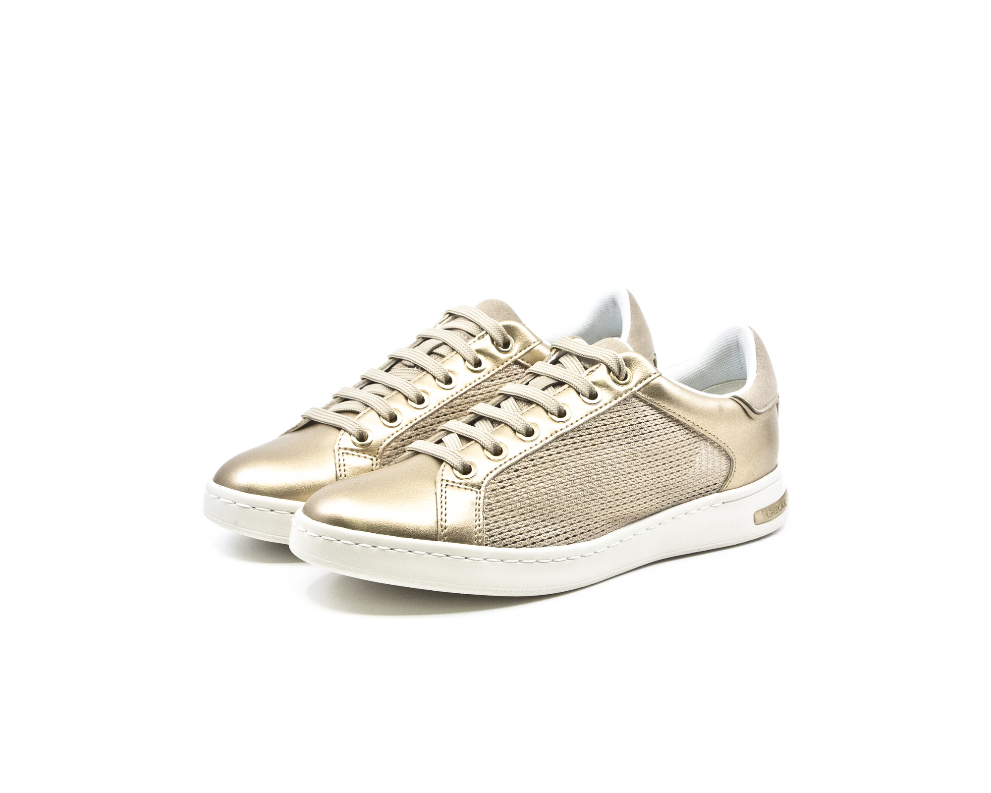 539d4bfbd6e Geox Jaysen Γυναικεία Ανατομικά Sneakers Champagne-Gold (D821BA 0LYNF  CB52X) - LifeShoes.gr